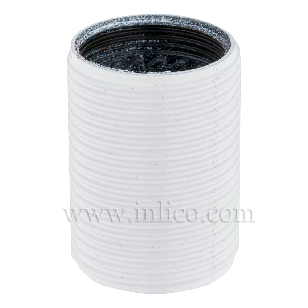 E14 FULLY THREADED SKIRT WHITE E14 BAKELITE/THERMOSETTING PHENOLIC RESIN  APPROVAL ENEC05 TO EN60238:2004