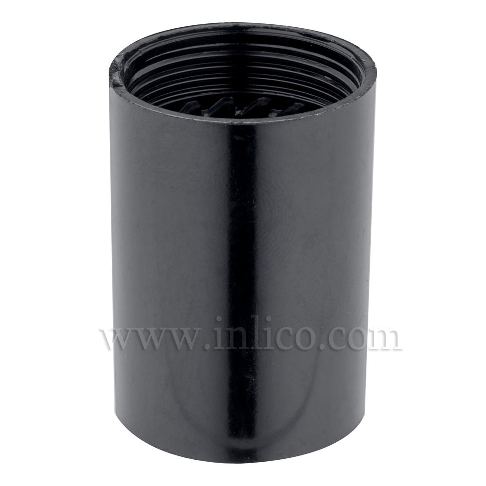 E14 PLAIN SKIRT BLACK BAKELITE/THERMOSETTING PHENOLIC RESIN  APPROVAL ENEC05 TO EN60238:2004