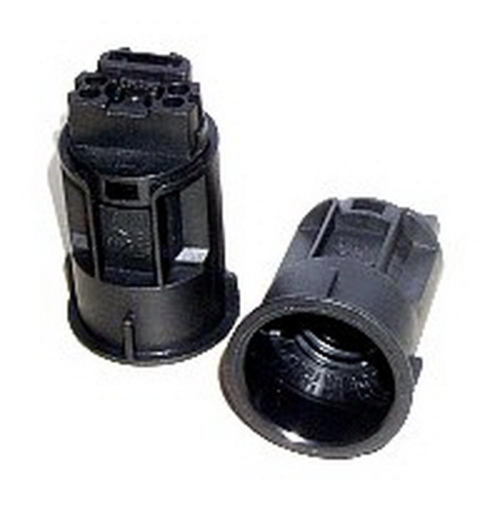 E14 CANDLE LAMPHOLDER BLACK 24MM DIA. X 42MM