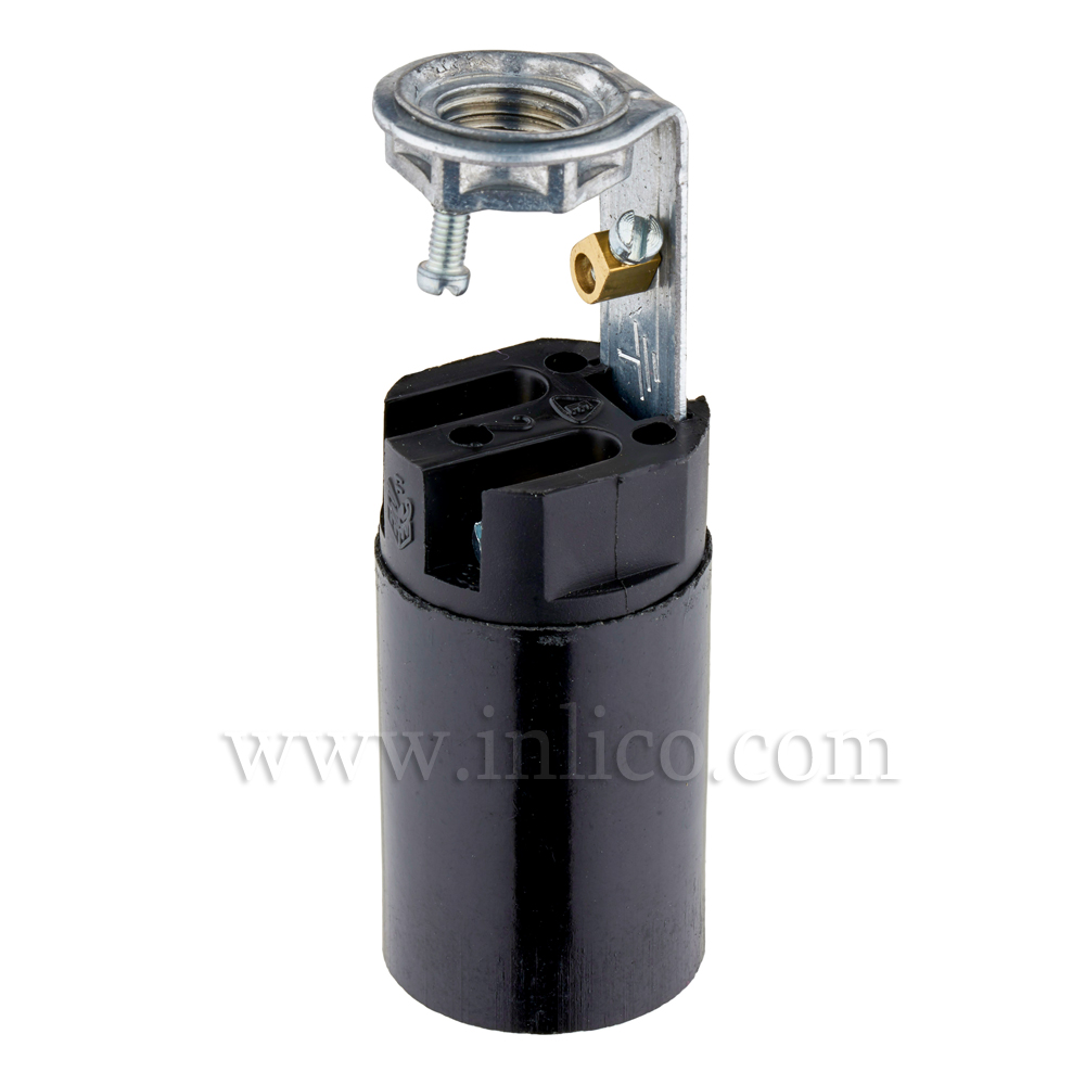 710/E14 LH C/WITH EARTHED BRACKET,  65MM O.A.L