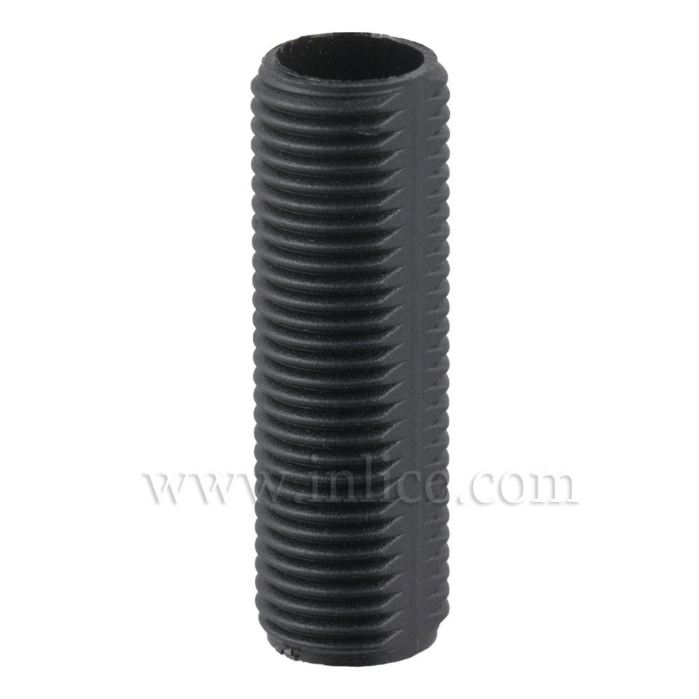 BLACK PLASTIC PROFILED ALLTHREAD M10x30MM