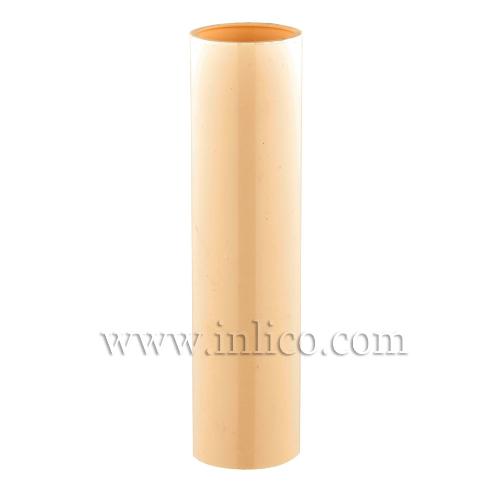 CANDLE TUBE 23ID X 100MM IVORY PLASTIC
