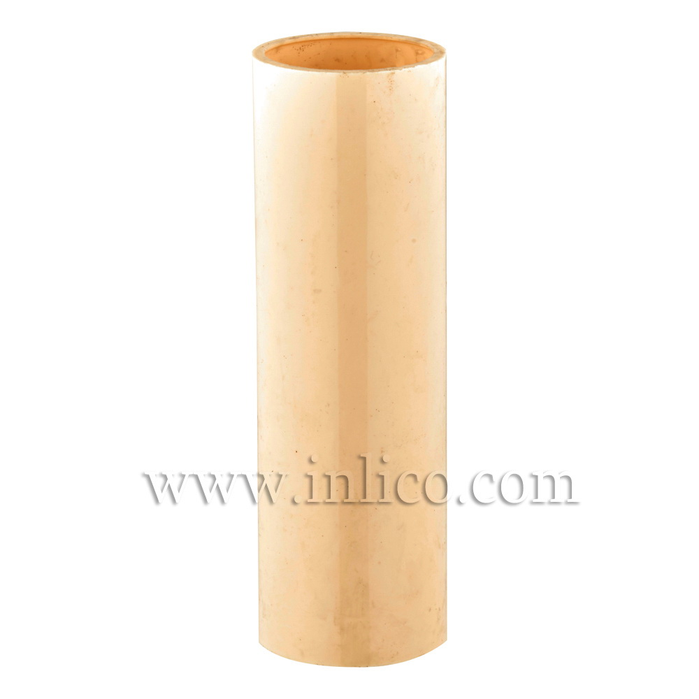 CANDLE TUBE 23ID X 80MM IVORY PLASTIC