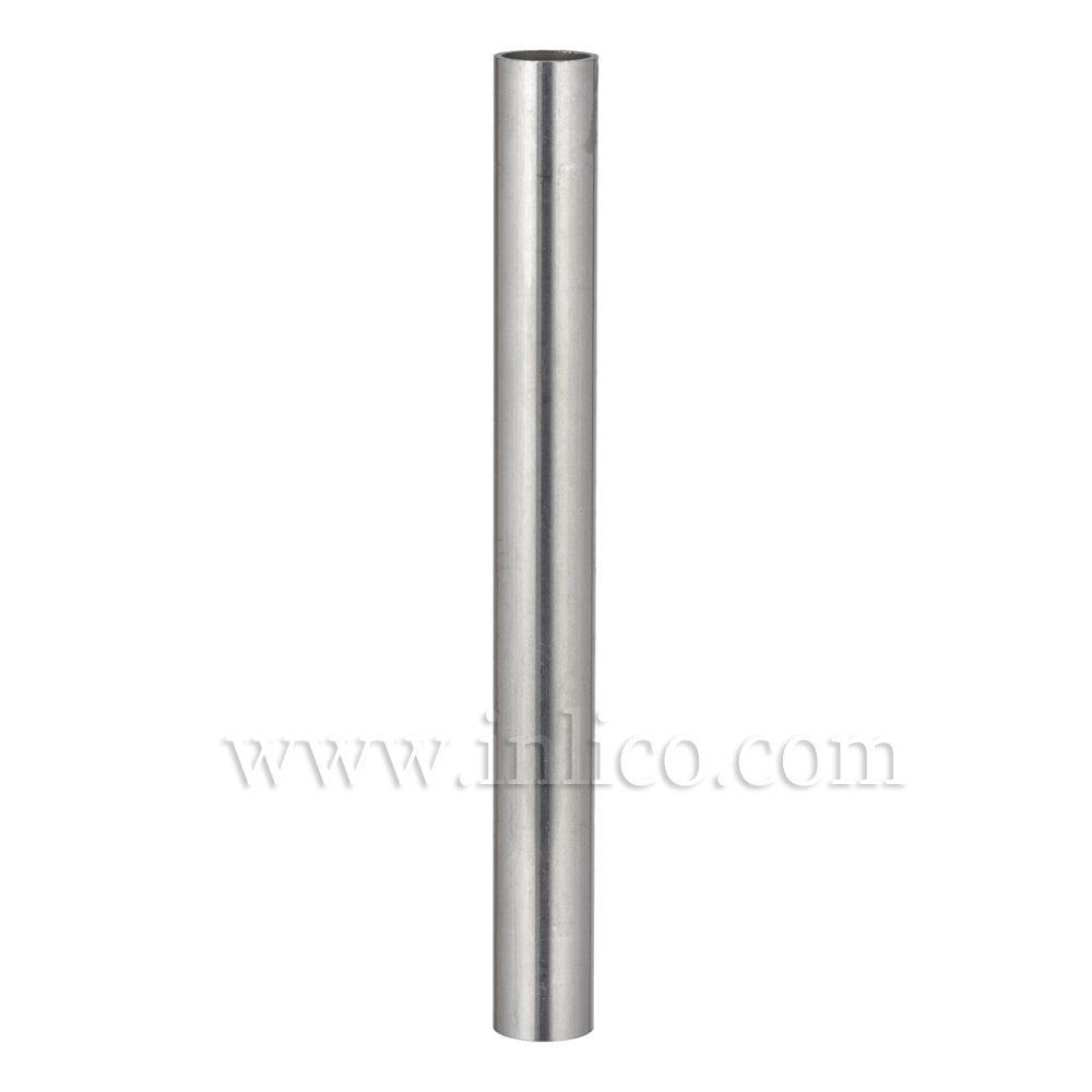 SPACER 125MM LONG RAW STEEL 10MM CLEAR BORE TO FIT OVER M10x1 ALLTHREAD