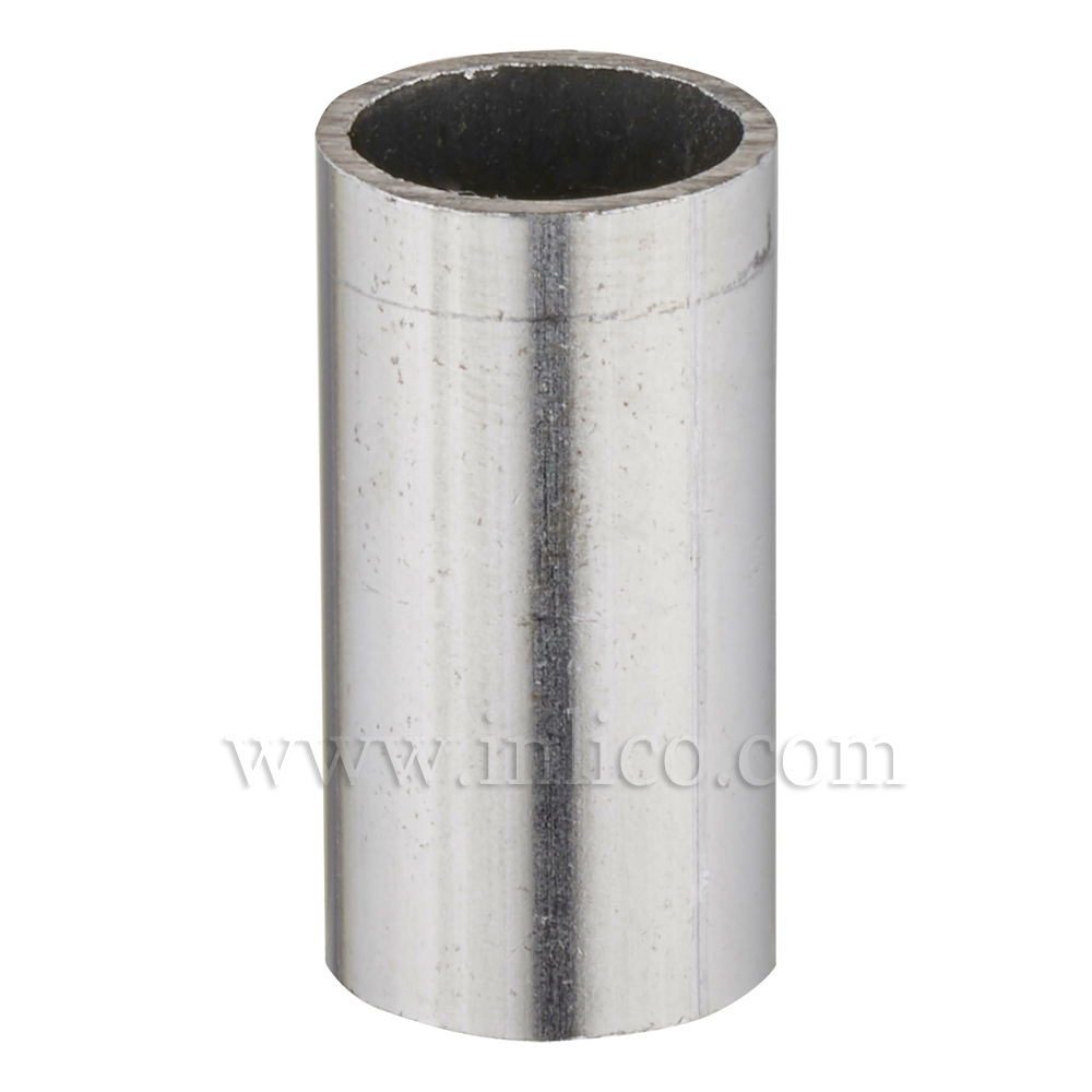 RAW STEEL SPACER 25MM LONG 10mm CLEAR BORE TO FIT OVER M10x1 ALLTHREAD