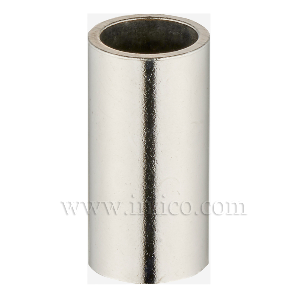RAW STEEL SPACER 40MM LONG 10mm CLEAR BORE TO FIT OVER M10x1 ALLTHREAD